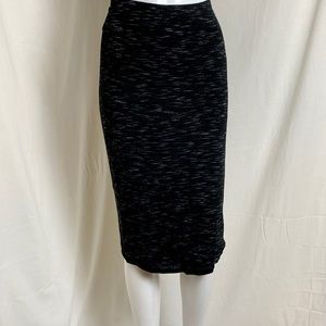 Casual Black Express Skirt